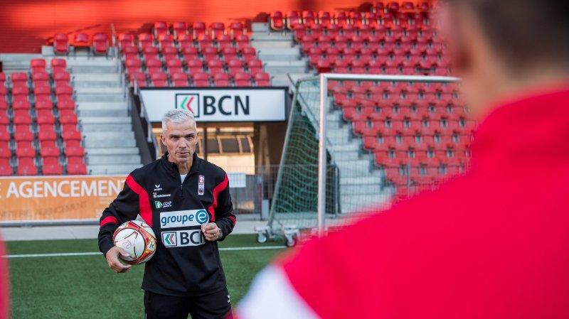 Philippe Perret dirigera la nouvelle équipes des M21 de Neuchâtel Xamax FCS.