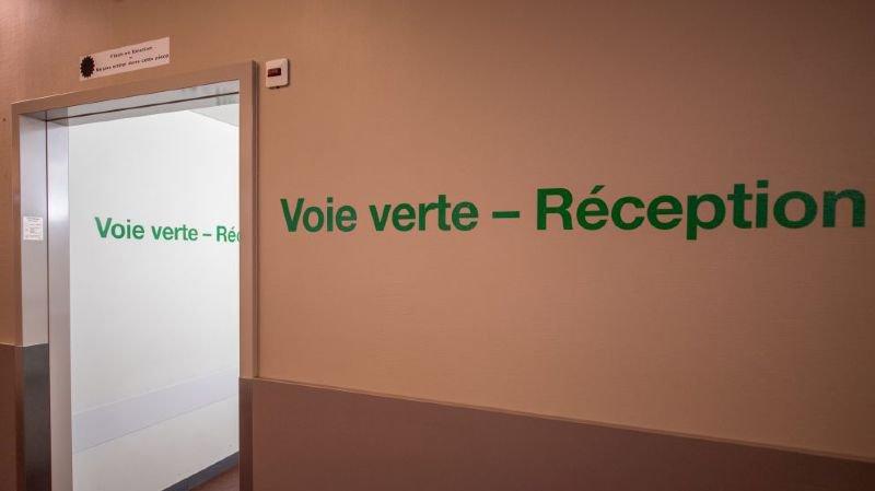 A l'hôpital Pourtalès, site de l'HNE à Neuchâtel.