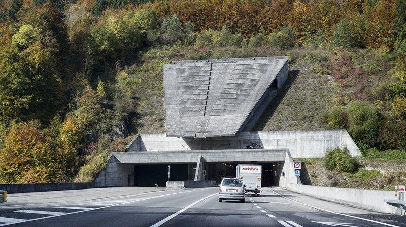 Jura: double collision dans le tunnel du Mont Terri