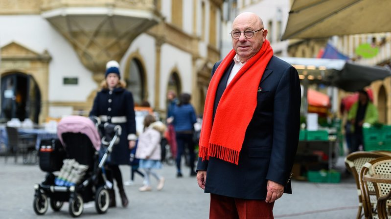 Neuchâtel: le père de la zone piétonne raconte sa naissance