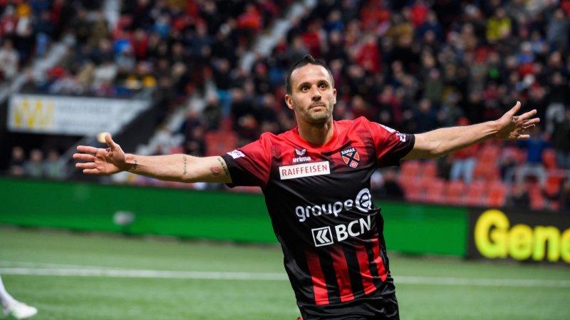 Raphaël Nuzzolo prolonge d'un an son contrat avec Xamax