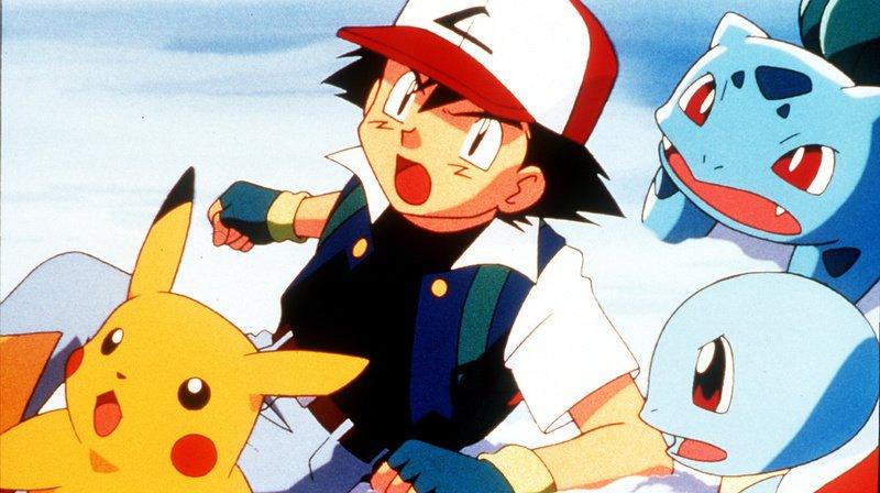 En plus des images provenant des jeux vidéo Pokémon, les chercheurs ont aussi utilisé des personnages du dessin animé durant l'expérience. (Illustration)