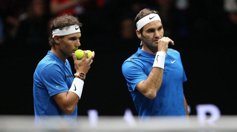 Douze ans après, le trio de tête de l'ATP est le même. (illustration)