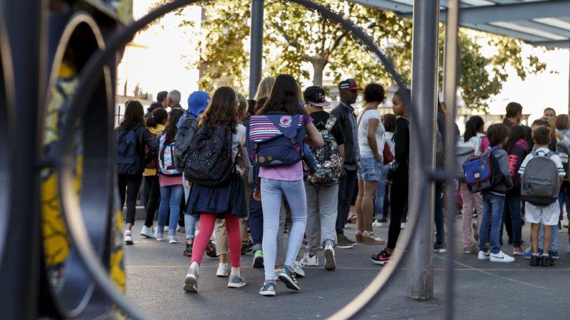 """Il semble que les comportements """"violents, agressifs ou oppositionnels"""" soient plus nombreux parmi les élèves de 4 ans que chez les 13-14 ans. (illustration)"""