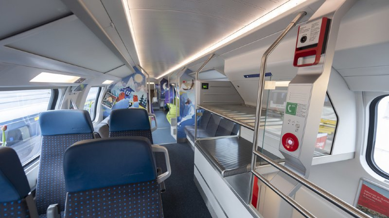 Améliorés, les nouveaux trains duplex ne rouleront pas encore en Suisse romande
