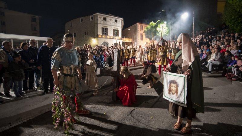 Tessin: à Mendrisio, Jésus monte au Golgotha pour la 221e fois