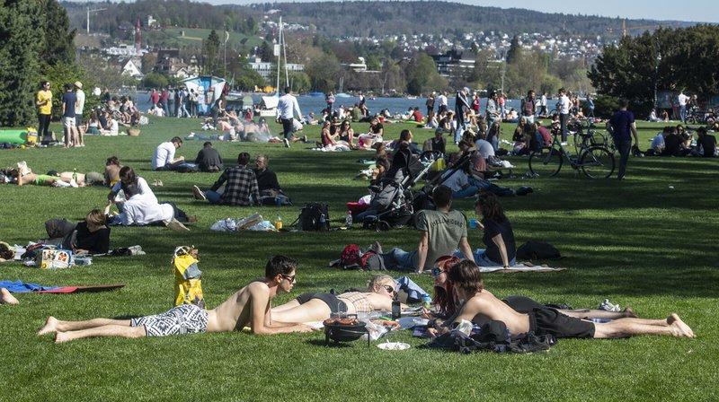 Météo: le mois d'avril a été trop chaud avec des températures estivales