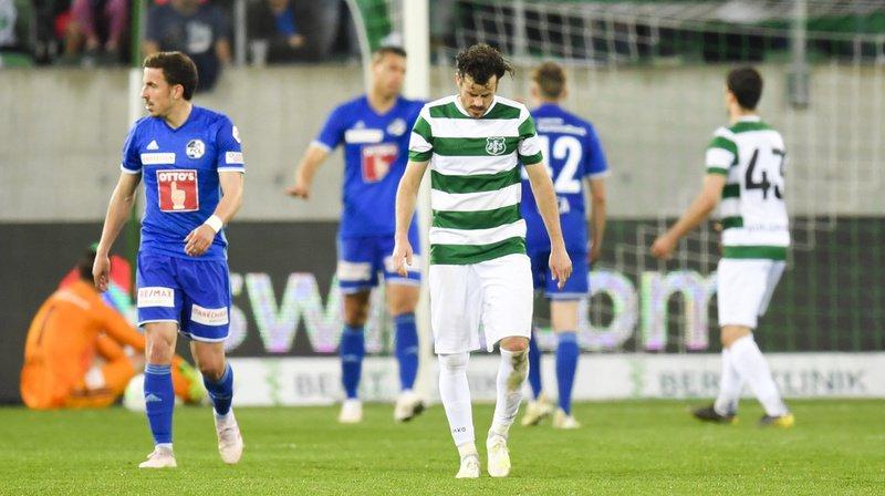Les Lucernois se sont imposé 2-1 à Saint-Gall.