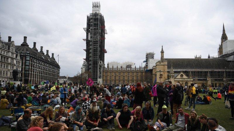 Les revendications des militants d'Extinction Rebellion ont été entendues au Parlement.