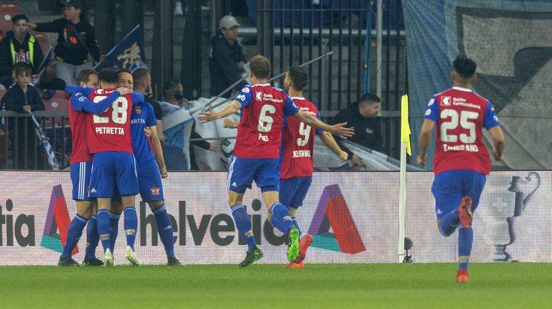 Football: Bâle rejoint Thoune en finale de la Coupe de Suisse