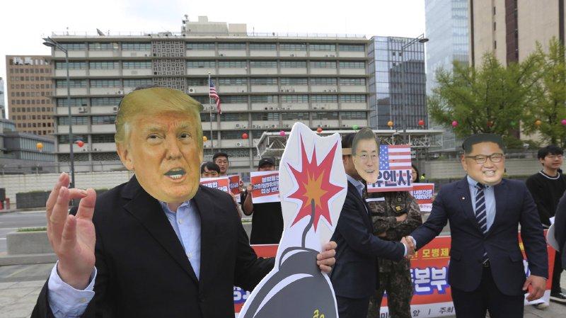 Kim Jong-un a été critique envers les Etats-Unis lors de sa rencontre avec Vladimir Poutine.