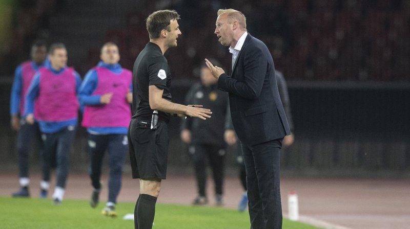 Il est reproché à Ludovic Magnin des insultes à l'encontre de l'arbitre.