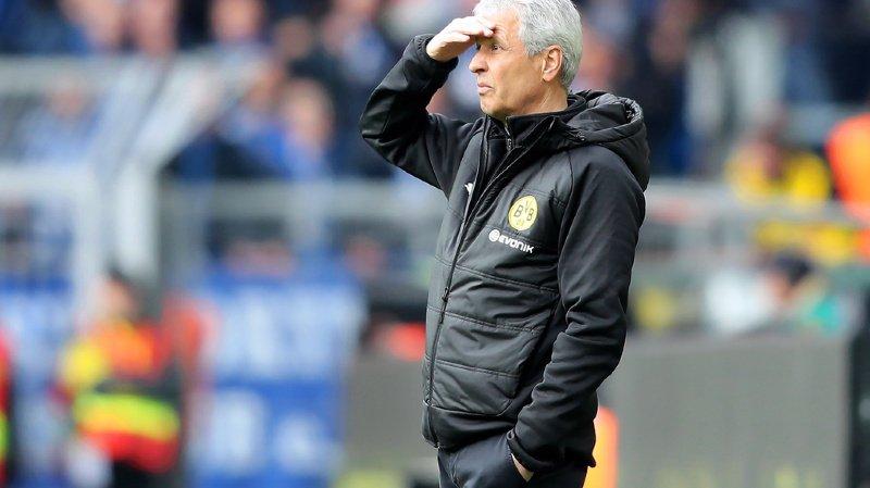 Lucien Favre avait tenu des propos défaitistes après la défaite face à Schalke.