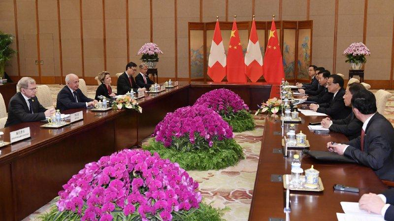 Suisse-Chine: Ueli Maurer reçu par Xi Jinping