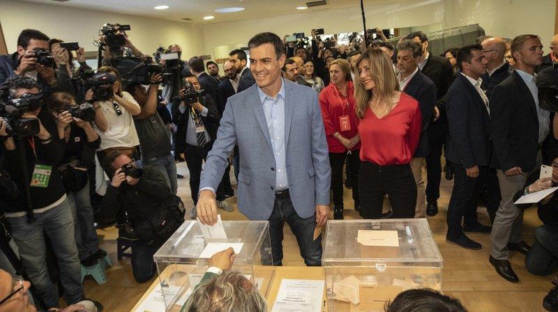Le Premier ministre socialiste Pedro Sanchez a remporté les élections législatives espagnoles sans atteindre la majorité absolue.