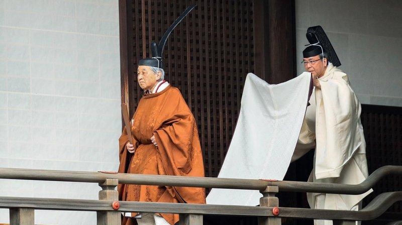 Japon: jour de l'abdication pour l'empereur, le début d'une nouvelle ère