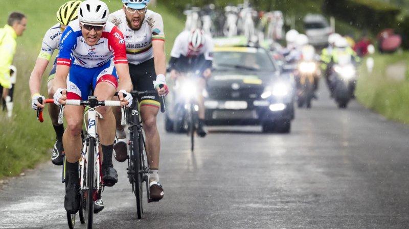 Cyclisme - Tour de Romandie: le Suisse Stefan Küng remporte en solo la deuxième étape à Morges