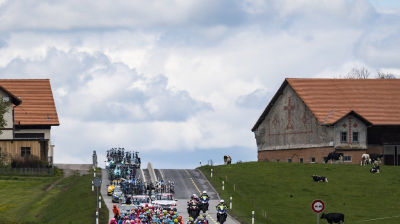 Seule la montée vers Torgon est maintenue dans ce qui devait être la grande étape de montagne du Tour de Romandie 2019 (illustration).