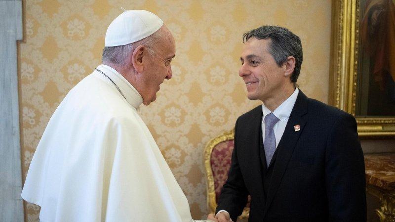 Vatican: Ignazio Cassis assistera lundi à la prestation de serment des nouveaux gardes du pape