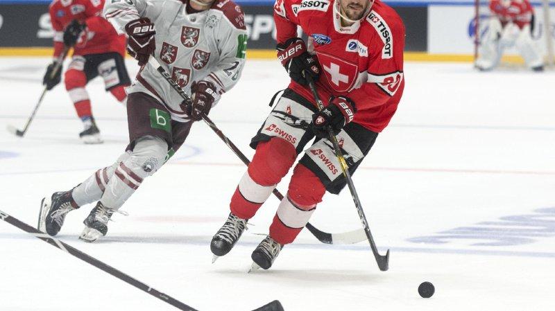 Roman Josi et ses coéquipiers ont gagné cette fois 2 à 1 contre la Lettonie.