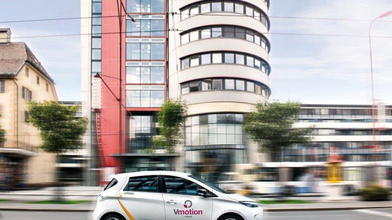 Avec 39 bornes publiques comptant 51 points de recharge, le réseau Vmotion est le plus important du canton.