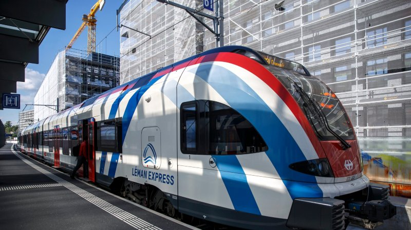 Léman Express, gros défi des CFF