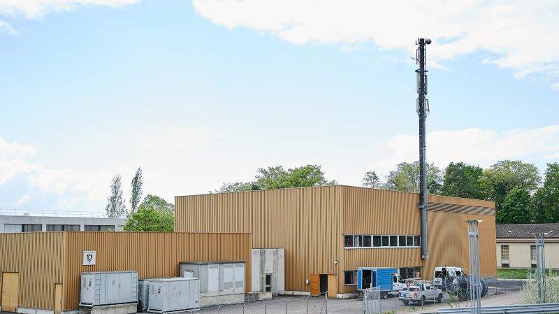 Une mystérieuse antenne 5G a été installée à Neuchâtel