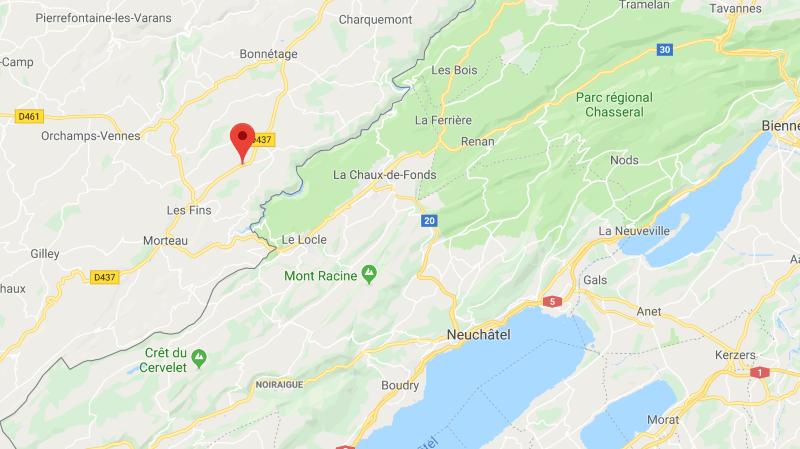 France voisine: un accident fait trois morts près de la frontière suisse