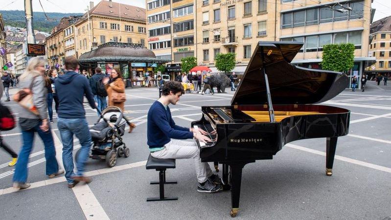 En mai 2018, des étudiants de la Haute Ecole de musique ont joué dans la rue pour sensibliser le public.