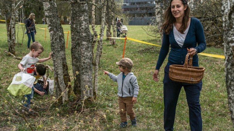 La Chaux-de-Fonds: chasse aux œufs en T-shirt au Musée paysan