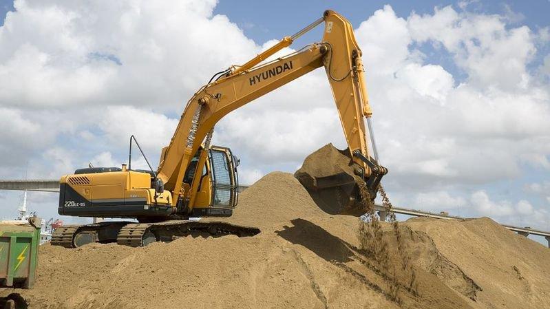 Le sable et le gravier constituent la deuxième composante la plus extraite dans le monde après l'eau.