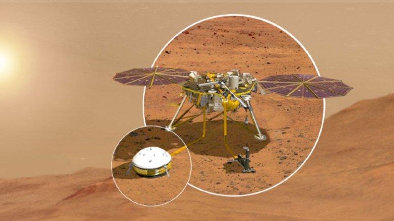 En étudiant les séismes martiens, les chercheurs espèrent en apprendre plus sur l'histoire de la formation de la planète rouge survenue il y a des milliards d'années.