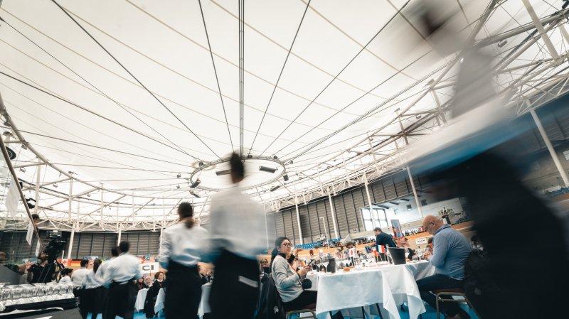 Plus de 9000 vins en compétition à Aigle, à l'occasion du 26e concours mondial de Bruxelles