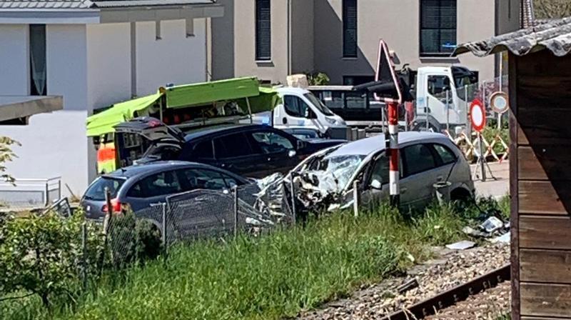 L'accident s'est produit ce mardi matin à Corcelles-Cormondrèche.