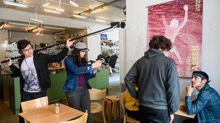 La Chaux-de-Fonds: elle fait son cinéma avec John Howe