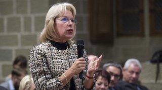 Affaire Orllati – Nicod: la conseillère d'Etat Jacqueline de Quattro visée par une plainte pénale