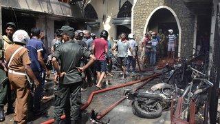 Explosions au Sri Lanka: plus de 150 morts et des centaines de blessés dans des hôtels et des églises
