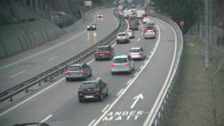 Week-end de Pâques: le portail nord du tunnel du Gothard déjà embouteillé sur 10 km