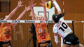 Les volleyeuses du NUC décrochent leur premier titre national sans trembler