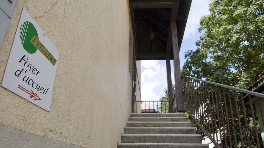 L'hébergement Feu-Vert, à La Chaux-de-Fonds, accueille des adultes en difficultés sociales, en situation de handicap ou victimes de violence domestique.