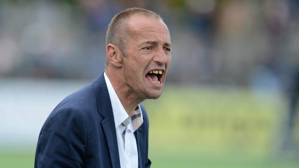 Pour Frédéric Chassot (ici lorsqu'il était entraîneur de Sion en 2014), il est normal qu'un club comme Sion soit intéressé par le profil d'un entraîneur comme Stéphane Henchoz.