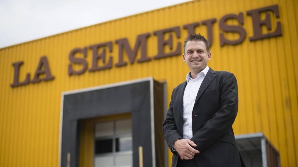 Nicolas Bihler, directeur général de la Semeuse.