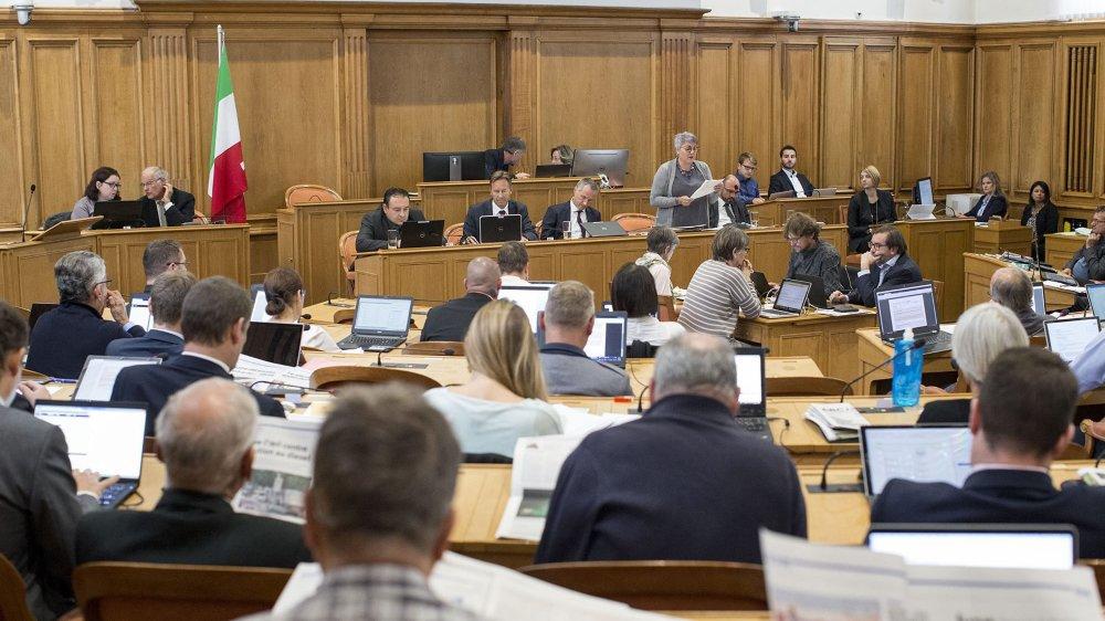 Tensions à gauche autour du projet d'un Grand Conseil paritaire.