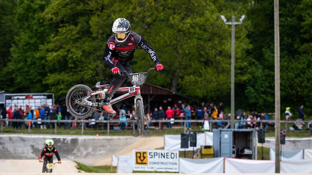 Le BMX a attiré des centaines de personnes ce week-end, à La Béroche.