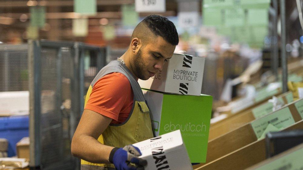 La Poste compte plus de 1000 travailleurs temporaires en ce moment, un chiffre qui bondit en période de pointe, à Noël et Pâques.
