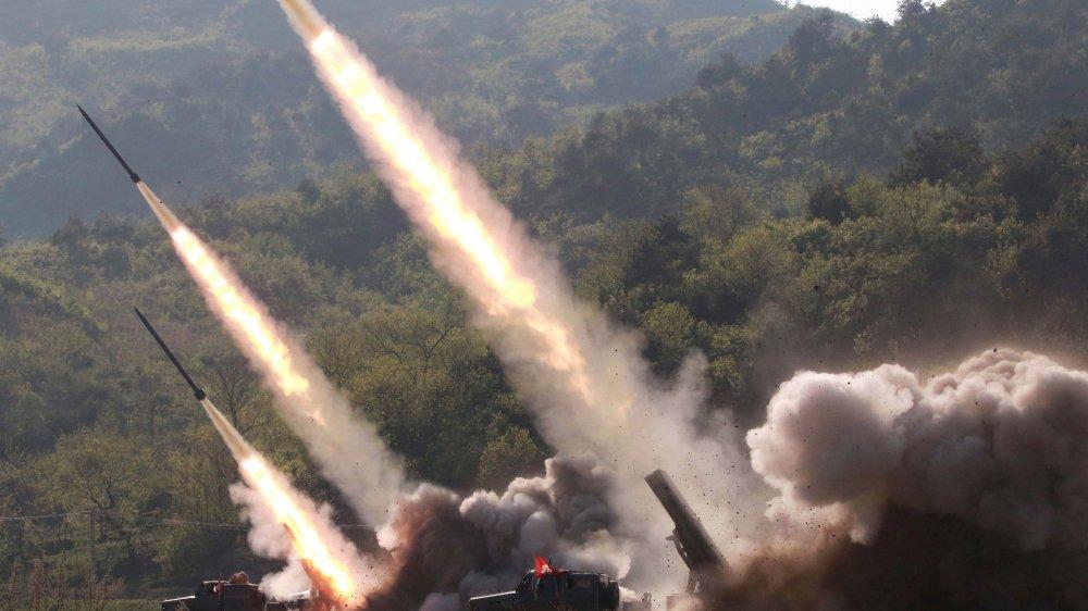 Pyongyang a réalisé depuis le début mai des essais, notamment de lance-roquettes multiples à longue  portée et de missiles à courte portée.