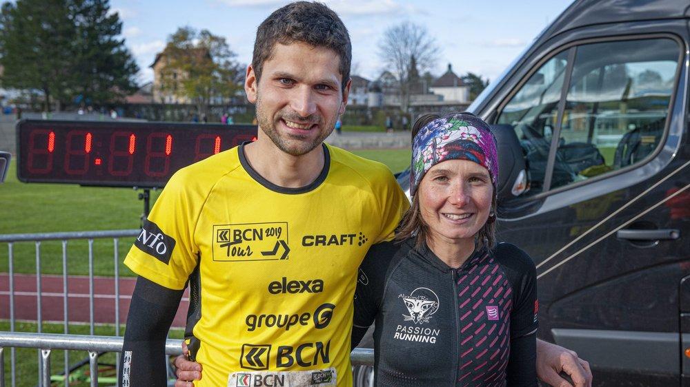 Manon Mougin et Jean-Marc Martin, les amoureux qui gagnent au BCN Tour.