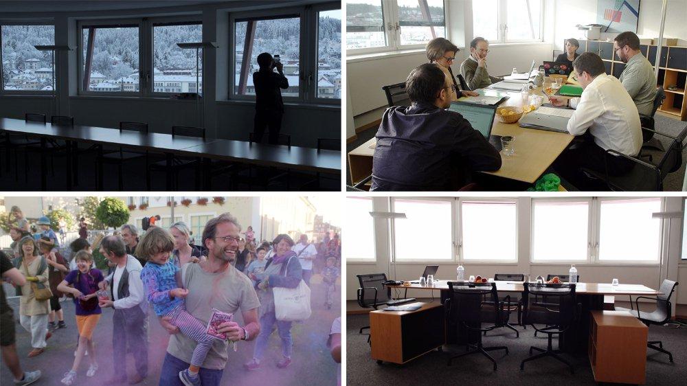 Pendant un an, les deux réalisateurs chaux-de-fonniers ont filmé les cinq conseillers communaux en exercice.