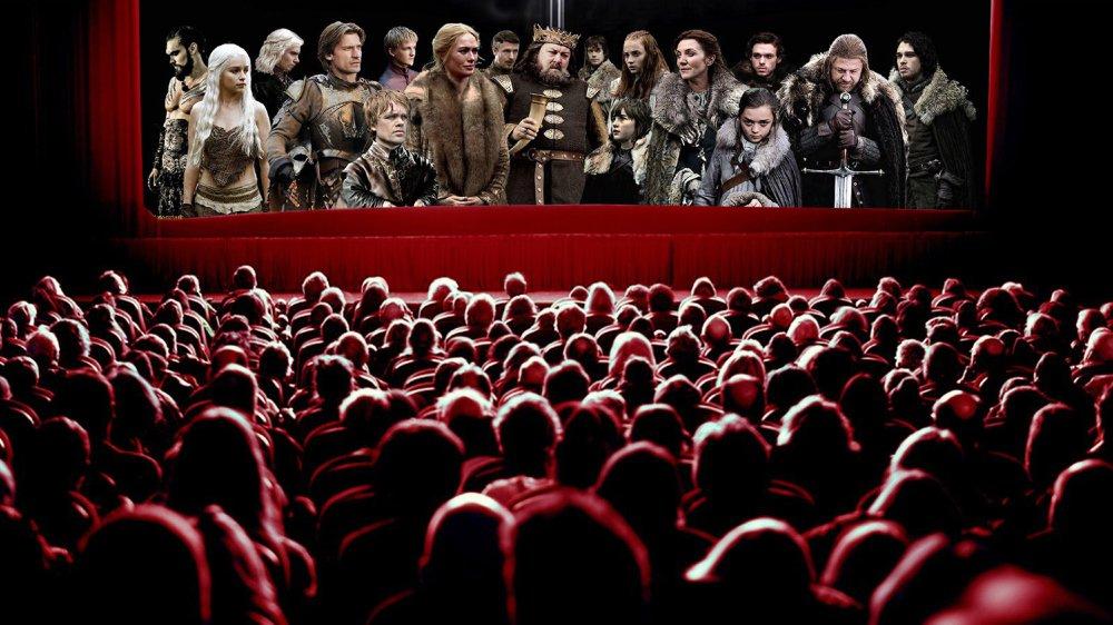 La série culte Game of Thrones a pris congé de ses fans neuchâtelois lundi soir au cinéma des Arcades.