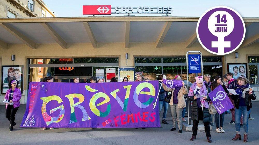Le collectif neuchâtelois de la grève des femmes prépare des actions de protestation dans le canton.